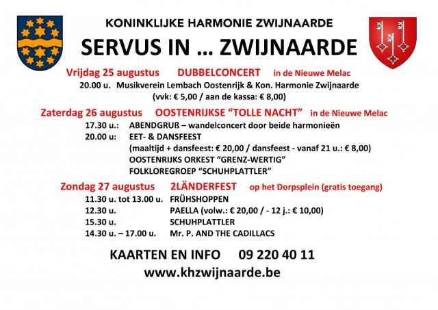 145 jaar Koninklijke Harmonie Zwijnaarde - 35 jaar verbroedering Musikkapelle Lembach i.M.