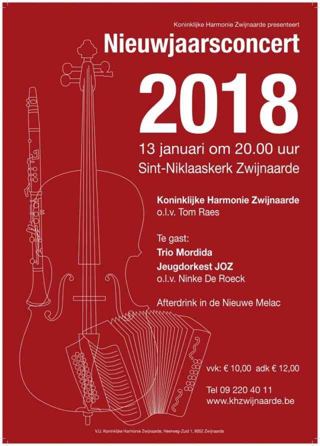 Nieuwjaarsconcert 2018